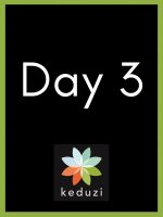 The words Day 3 and the Keduzi logo, which is a colourful flower.